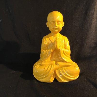 Monk Praying Statue