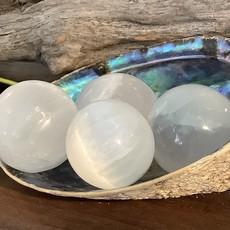 selenite Sphere Small