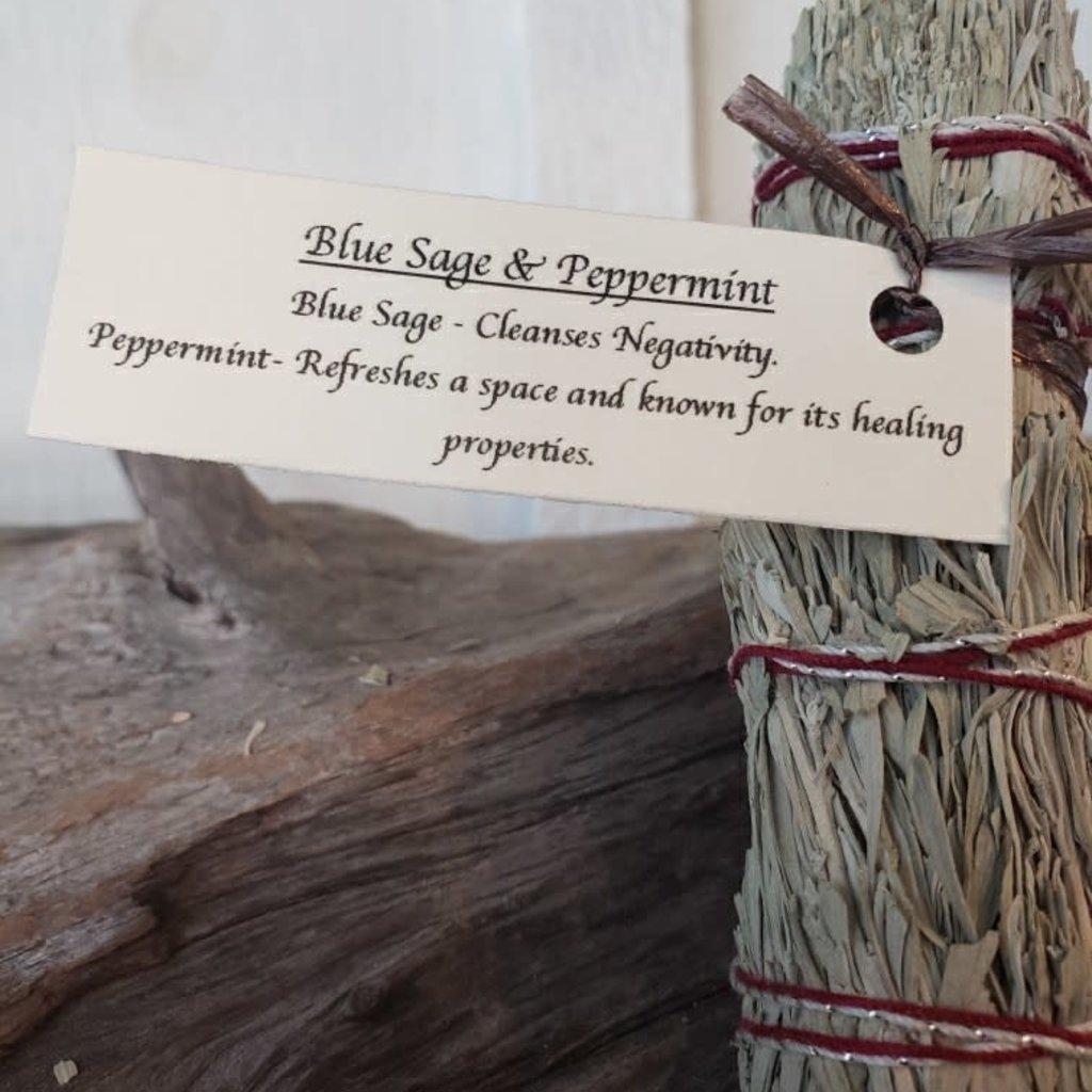 Blue Sage & Peppermint