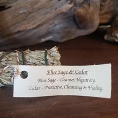 Blue Sage & Cedar