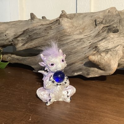 Purple dragon with Hair