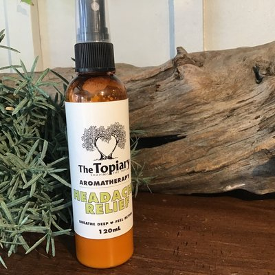 Headache Relief Essential Oil Spray