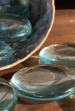 Blue Obsidian Palm Stones