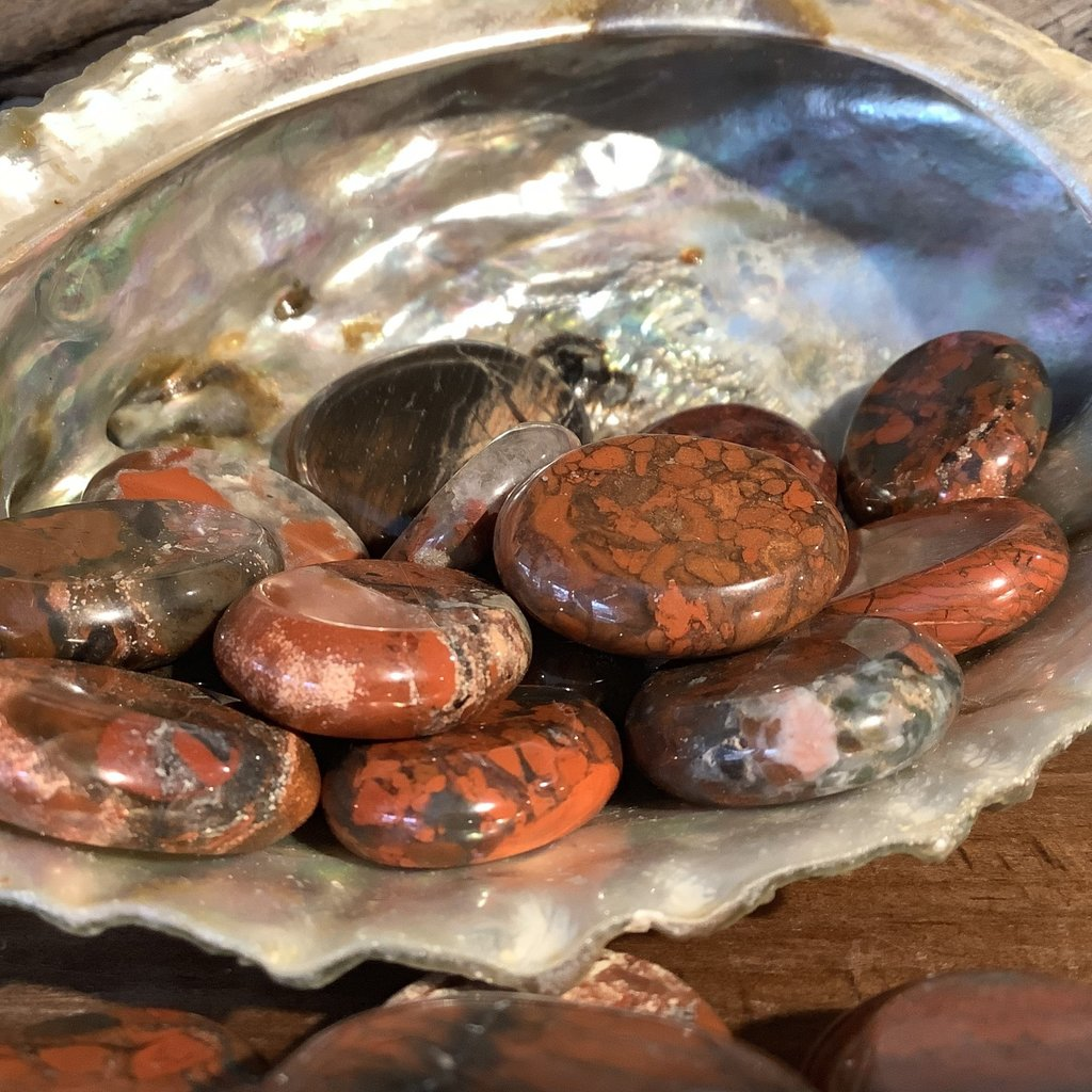 Brecciated Jasper Mini Palm