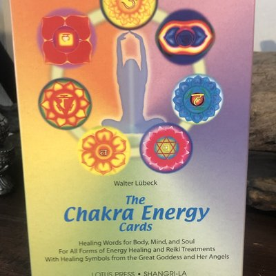 The Chakra Energy Card Oracle