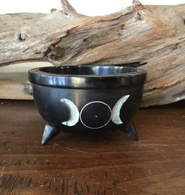 Sun and Moon Smudge Pot