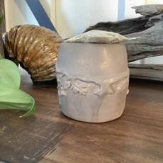 Green Man Smudge Pot Pottery