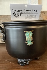 Cauldron with Owl