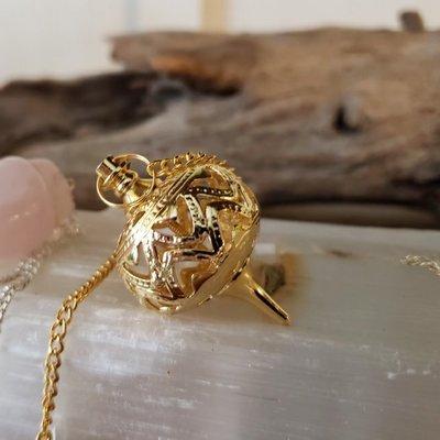 Gold Bulb Pendulum