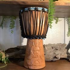 Drum Carved Buddha