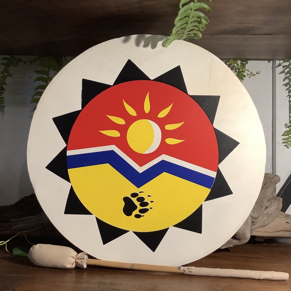 Sun and Claw Drum