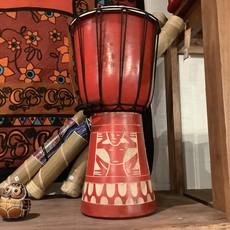 Red Bongo Drum