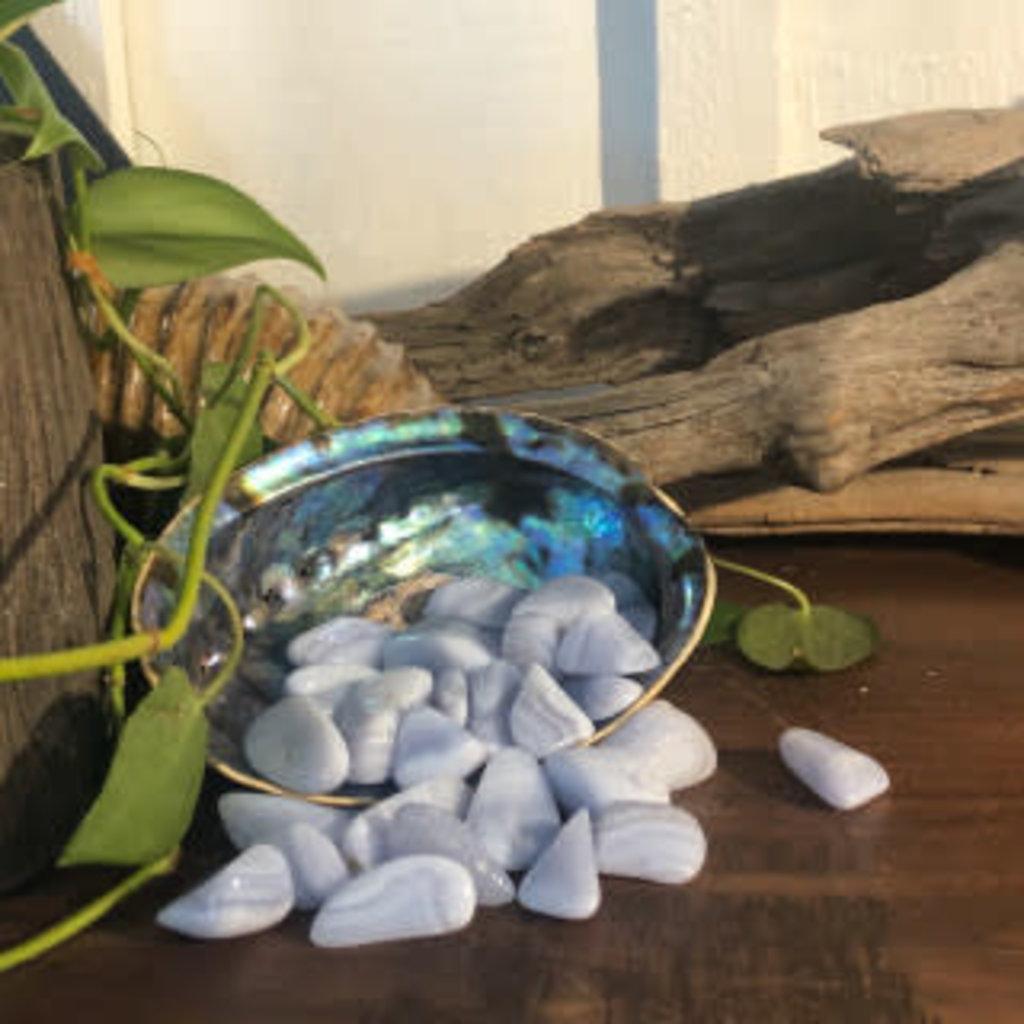 Blue Lace Agate Tumbled