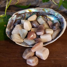 Multicoloured Moonstone Tumbled