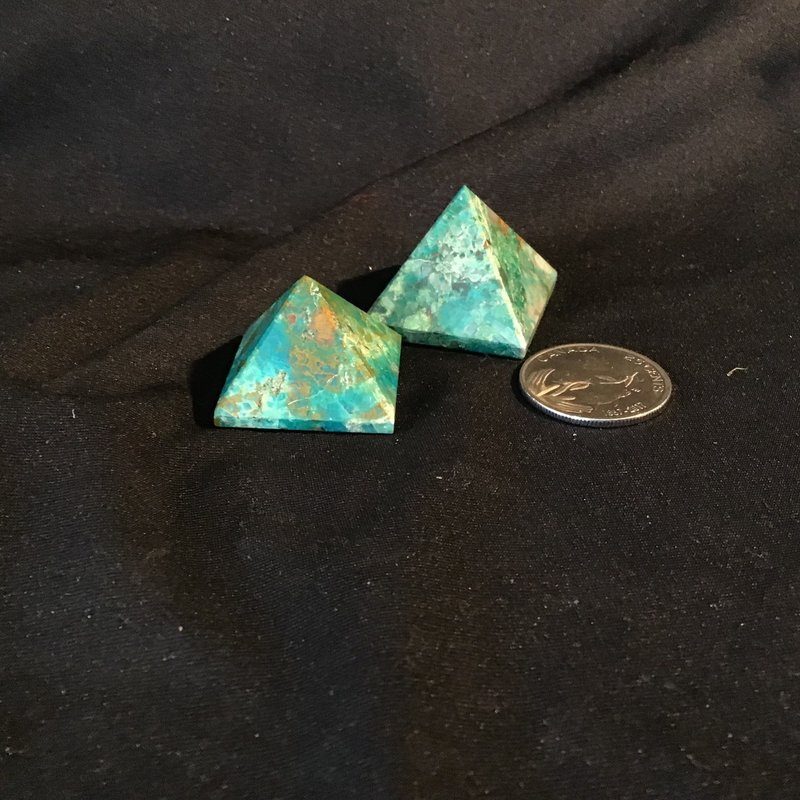chrysocolla Pyramid