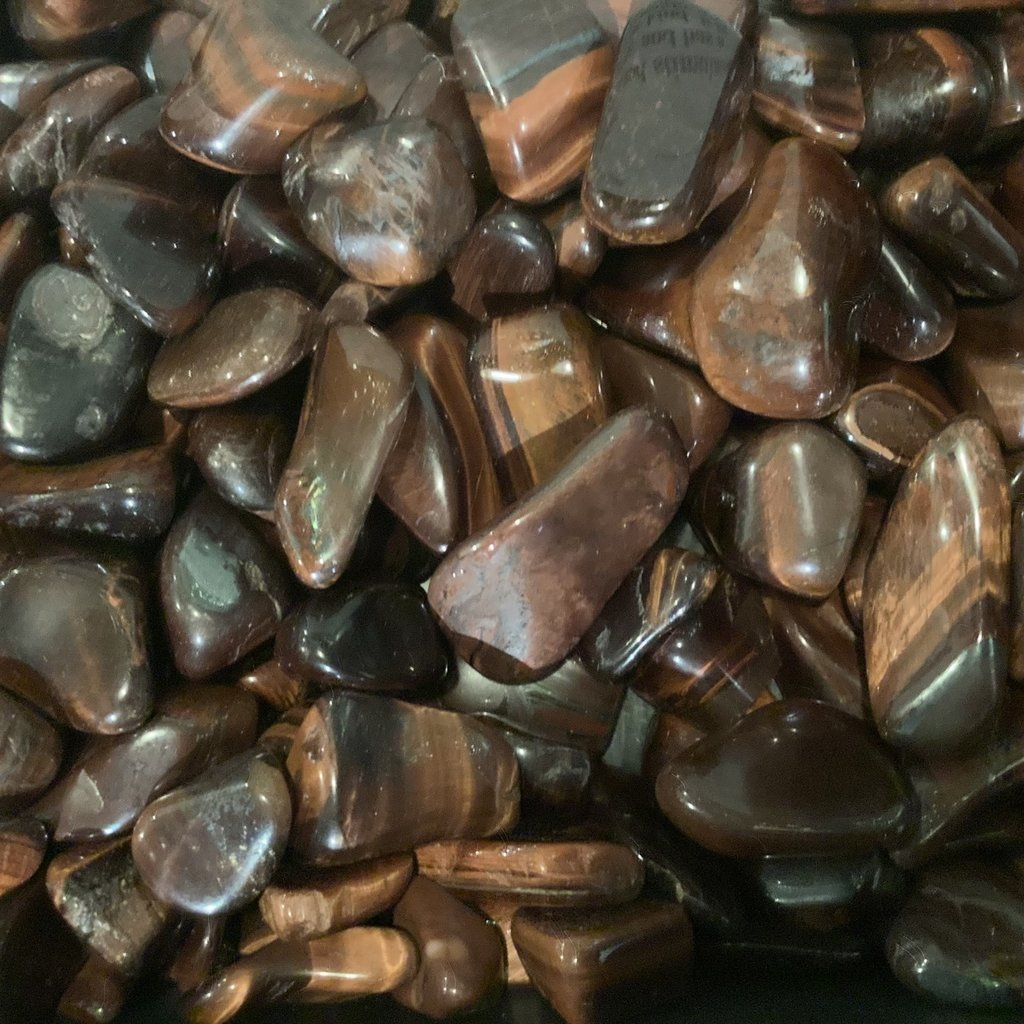 Red Tigers Eye Tumbled