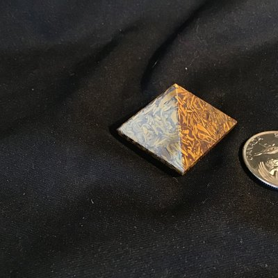 Fossilized Jasper Pyramid