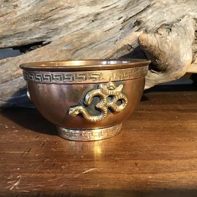OM Copper Smudge Bowl