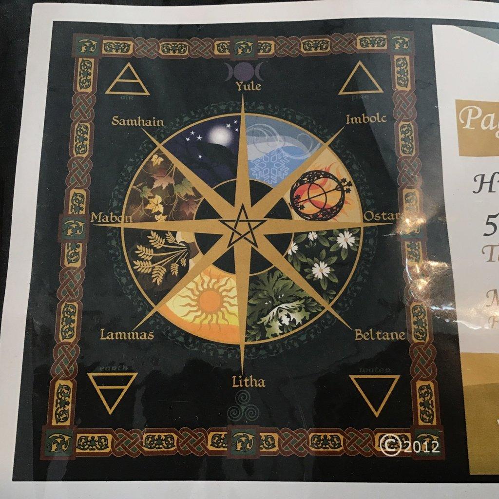 Pagan Calendar Tapestry