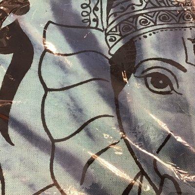 Blue Ganesh Tapestry