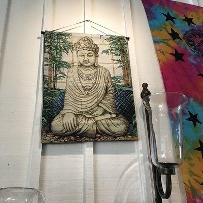 Buddha Handwoven Tapestry