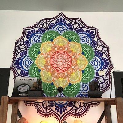 Chakra Mandela Tapestry