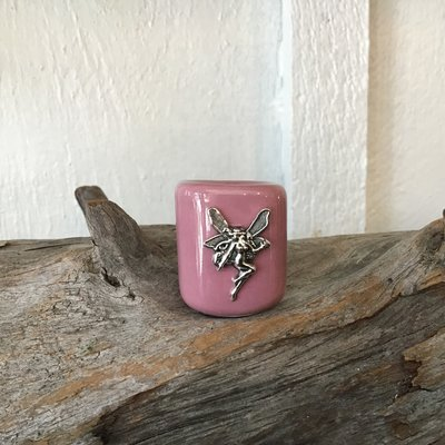 Pink Fairy Ritual Candle Holder