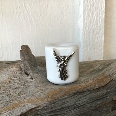 Ritual Candle Holder White Angel