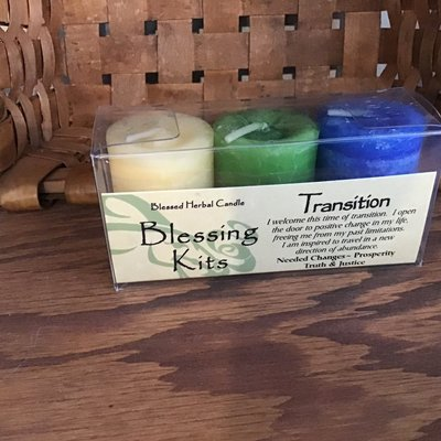 Transition Candle Set