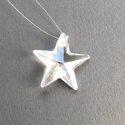 Clear Star Hanging Window Crystal