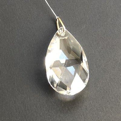 Small Tear Drop Hanging Window Crystal