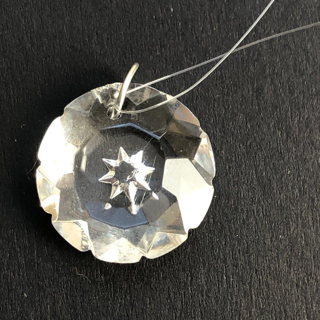 Starburst Prism Hanging Window Crystal