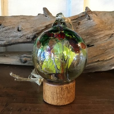"Kitras Glass Ball 2"" Tree of Life"