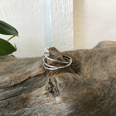 Interlock 3 Band Ring Size 11
