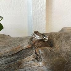 Interlock 3 Band Ring Size 9