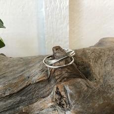 Interlock 3 Band Ring Size 7