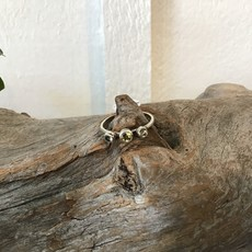 Smoky Citrine Ring Size 9