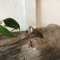 Herkimer Diamond Ring Size 6