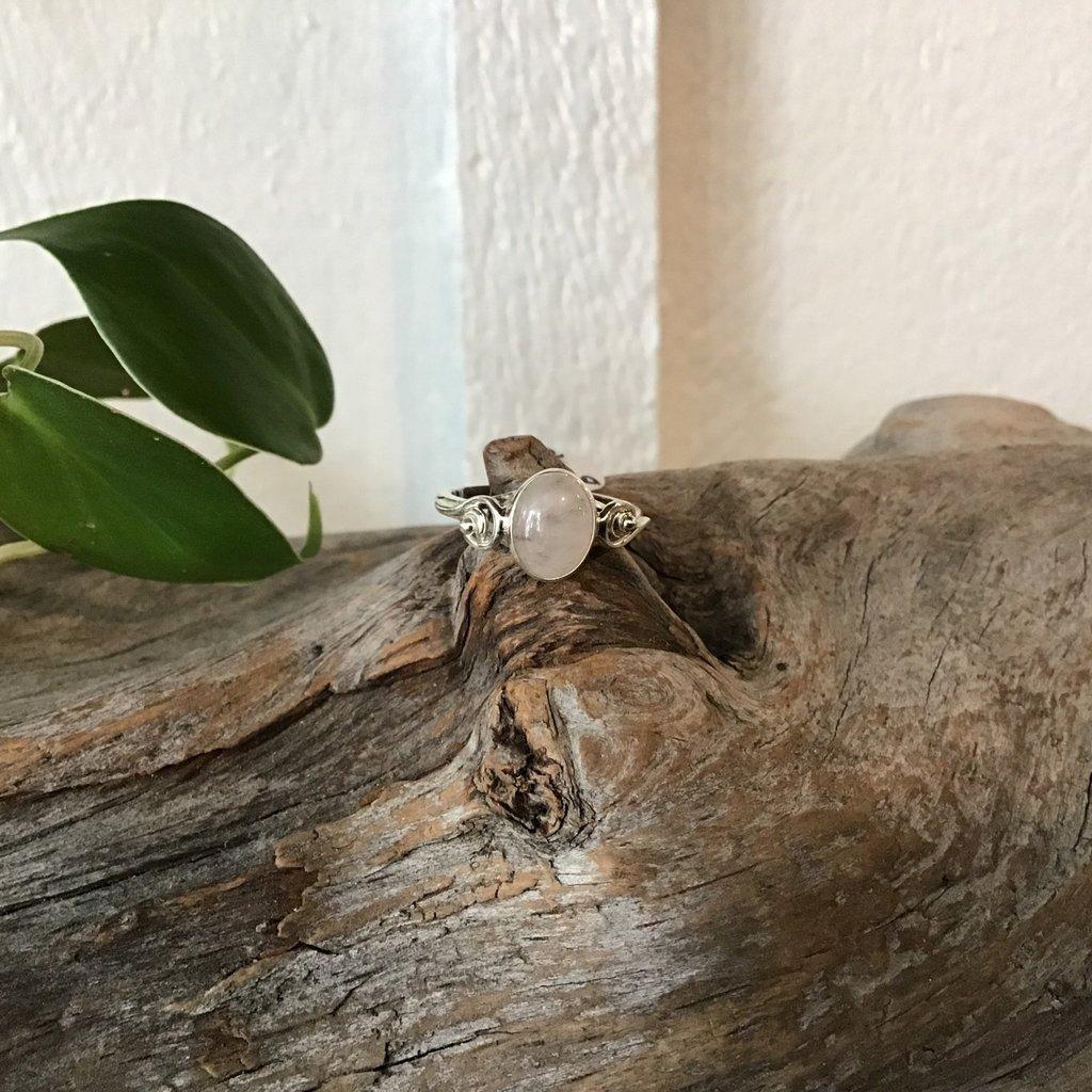 Rose Quartz Ring Size 6