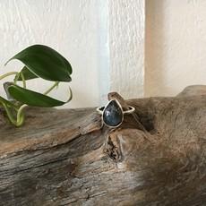 Labradorite Ring Size 8
