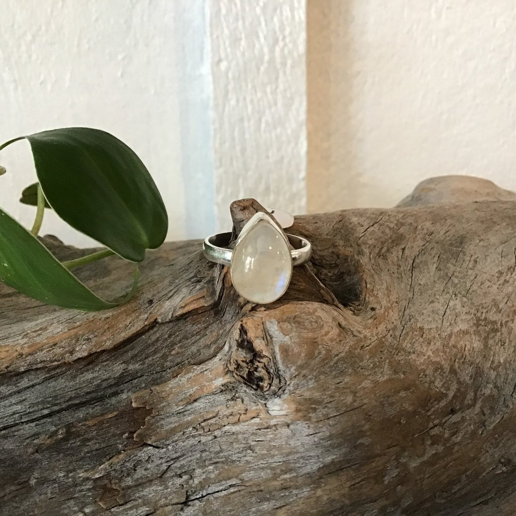 Moonstone Ring Size 9