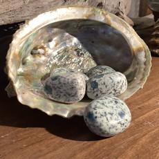 Azurite in Granite