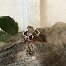 Garnet Ring Size 10