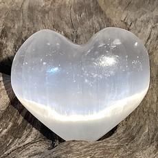 Selenite Heart Small