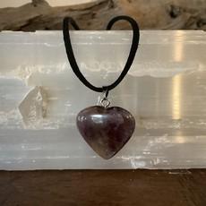 Ametrine Heart Rope Necklace