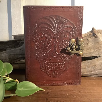 Day of the Dead Leather Journal