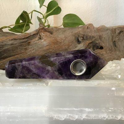 Amethyst Pipe