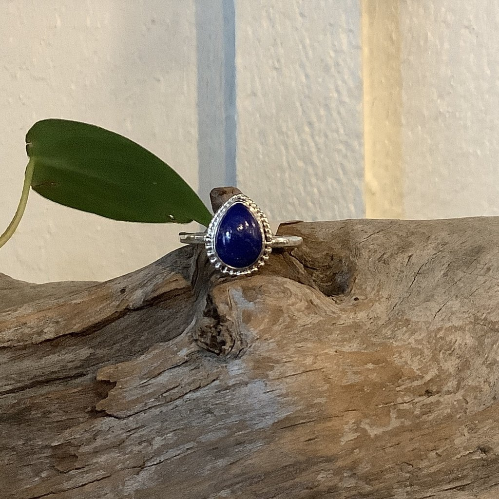 Lapis Lazuli Ring Size 11