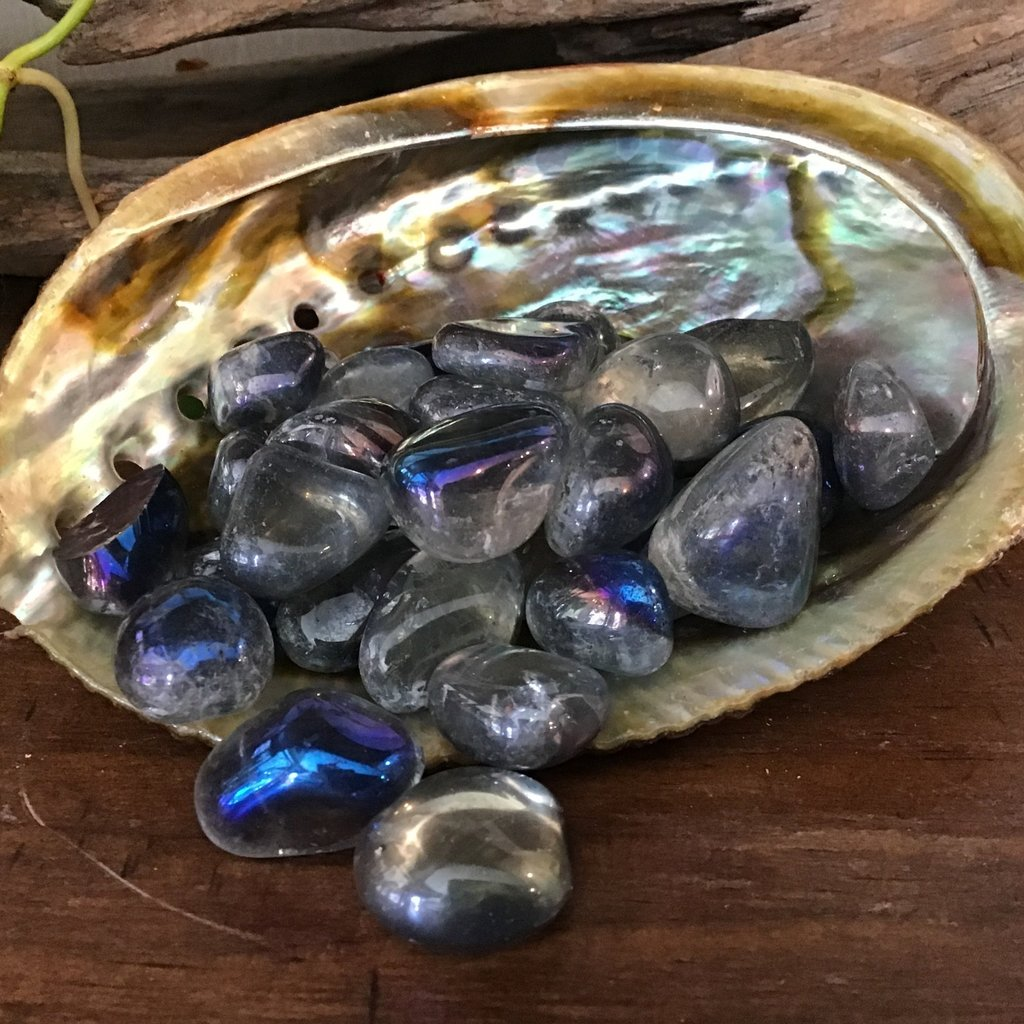 Blue Aura Tumbled