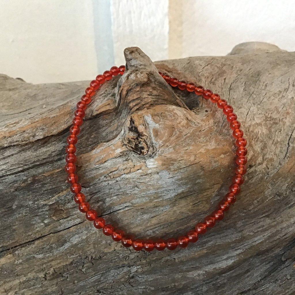 Carnelian Bracelet 2 mm